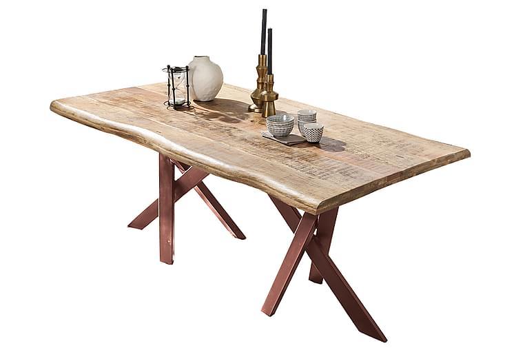 Matbord Raital 180x90 cm - Mango/Natur/Brun - Möbler - Bord - Matbord & köksbord