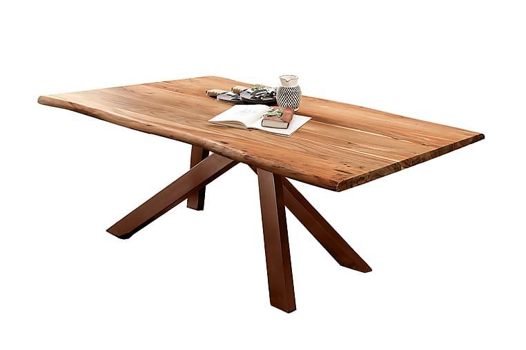 Matbord Raital 200x100 cm - Akacia/Brun - Möbler - Bord - Matbord & köksbord