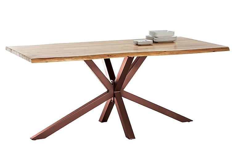 Matbord Raital 220 cm - Akacia/Brun - Möbler - Bord - Matbord & köksbord