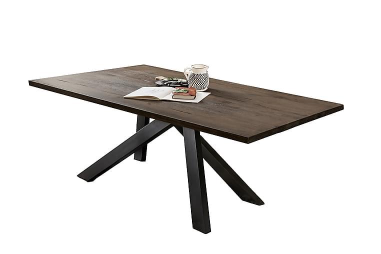 Matbord Raital 220 cm - Grå/Ek - Möbler - Bord - Matbord & köksbord