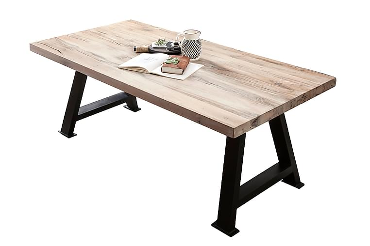 Matbord Raital 240 cm - Vit/Svart - Möbler - Bord - Matbord & köksbord