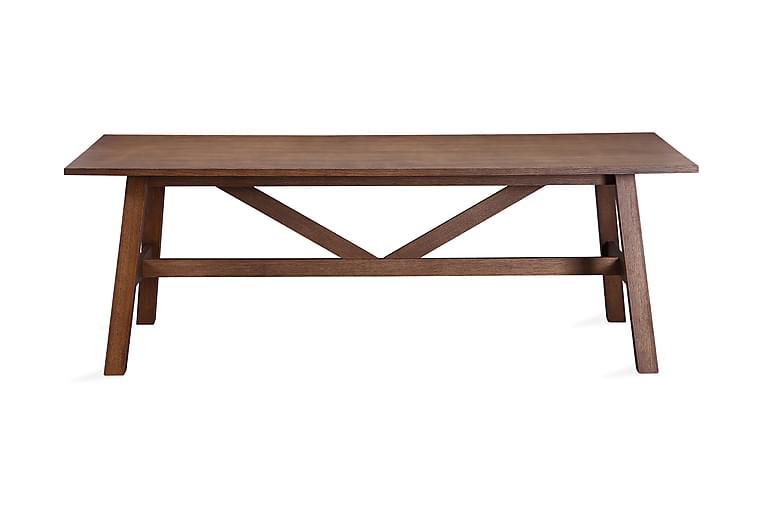 Matbord Redex 220 cm - Brun - Möbler - Bord - Matbord & köksbord