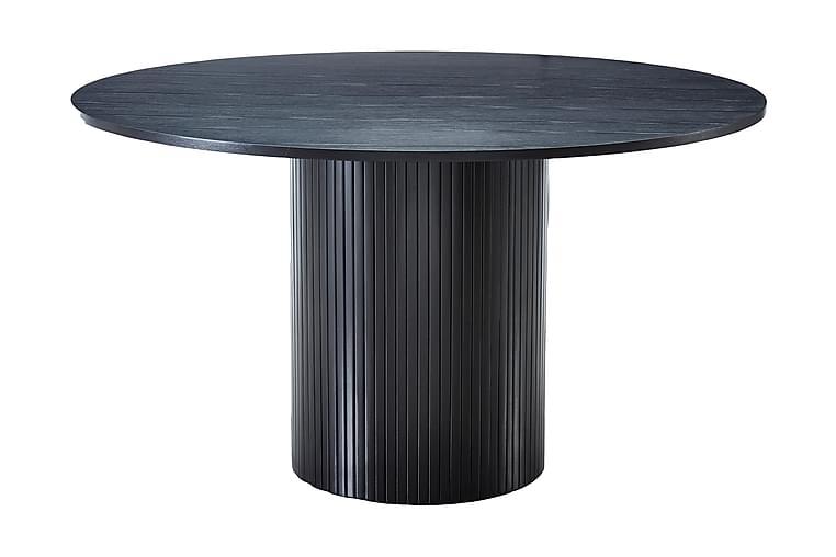 Matbord Runt Uppveda 130 cm - Svart - Möbler - Bord - Matbord & köksbord