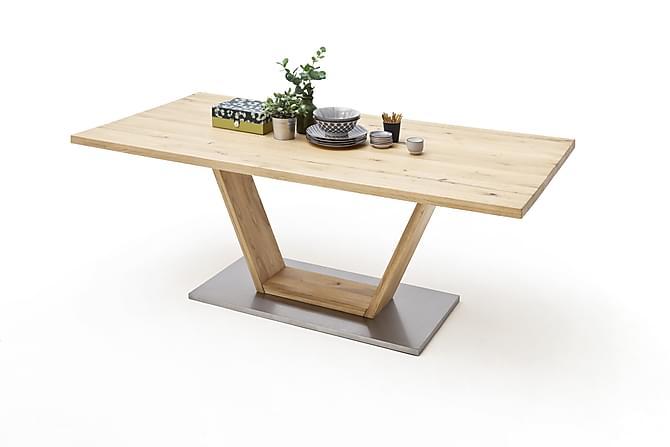 Matbord Santu 220 cm - Trä|Natur - Möbler - Bord - Matbord & köksbord