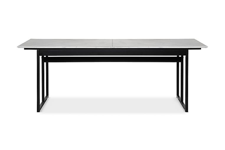 Matbord Titania 220 cm Marmor - Svart - Möbler - Bord - Matbord & köksbord