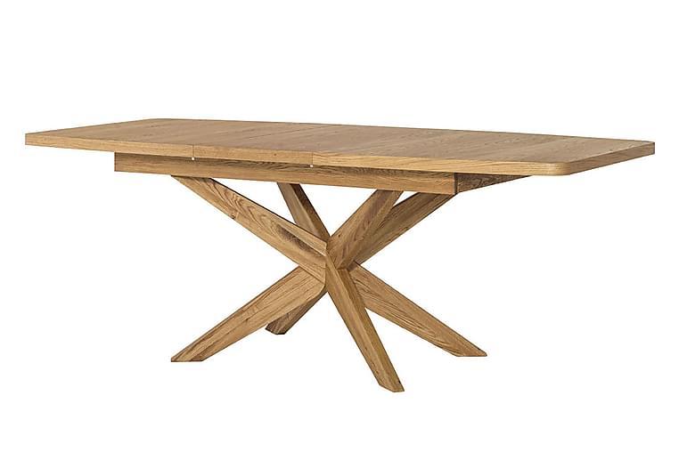 Matbord Varya Förlängningsbart 160 cm - Ek - Möbler - Bord - Matbord & köksbord