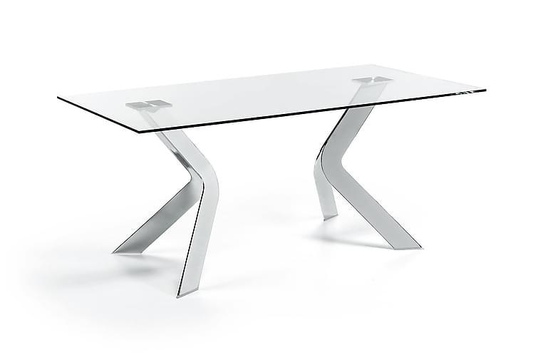 Matbord Virginia 180 cm - Glas Krom - Möbler - Bord - Matbord & köksbord