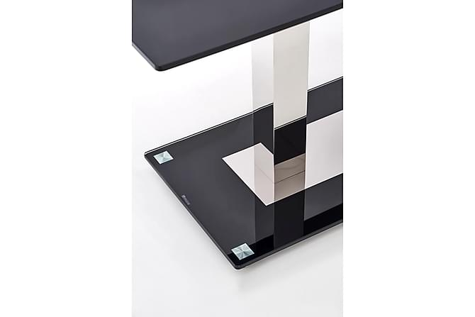 Matbord Winans Glas 140 cm - Svart - Möbler - Bord - Matbord & köksbord
