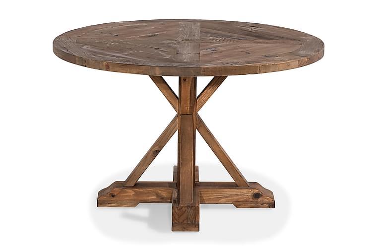Matbord Yorkshire 120 cm Rund - Natur - Möbler - Bord - Matbord & köksbord