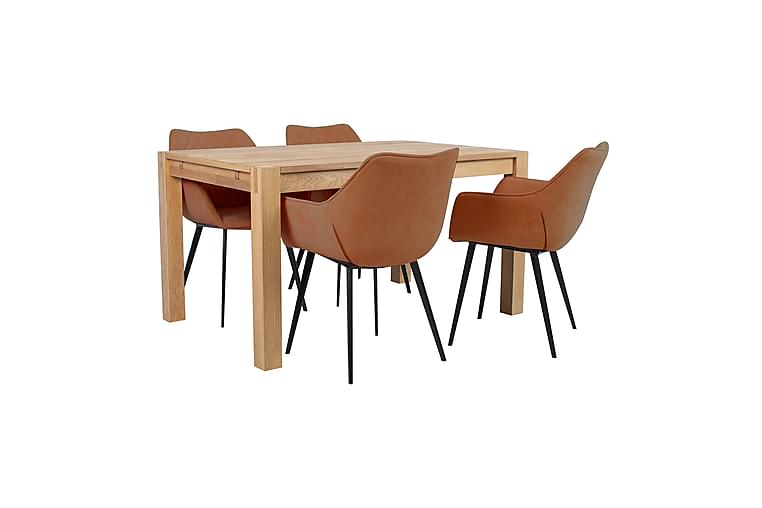 Matgrupp Chicago New med 4 stolar - Möbler - Bord - Matbord & köksbord