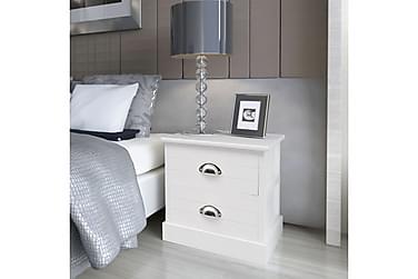 Irune Sängbord 2 Lådor 38x28 cm