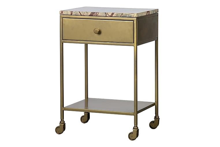 Sängbord Norma 45 cm - Antik Mässing - Möbler - Bord - Sängbord & nattduksbord