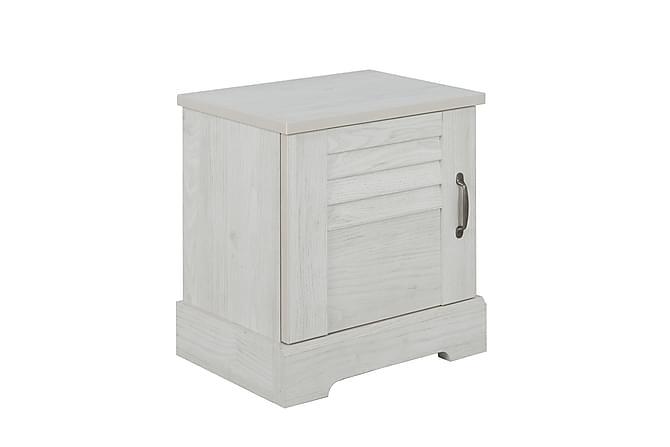 Sängbord Telmo 50 cm - Vit - Möbler - Bord - Sängbord & nattduksbord