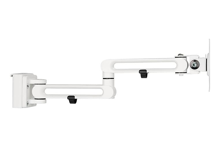 Deltaco OfficeDubbel monitor-arm för spårpanel - Deltaco Office - Möbler - Bord - Skrivbord