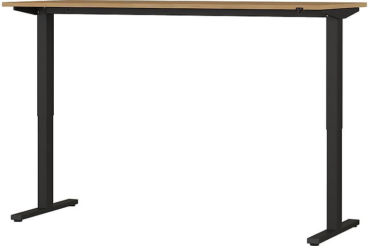 Skrivbord Arabuste - Brun|Svart - Möbler - Bord - Skrivbord