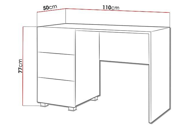 Skrivbord Frick - Svart - Möbler - Bord - Skrivbord