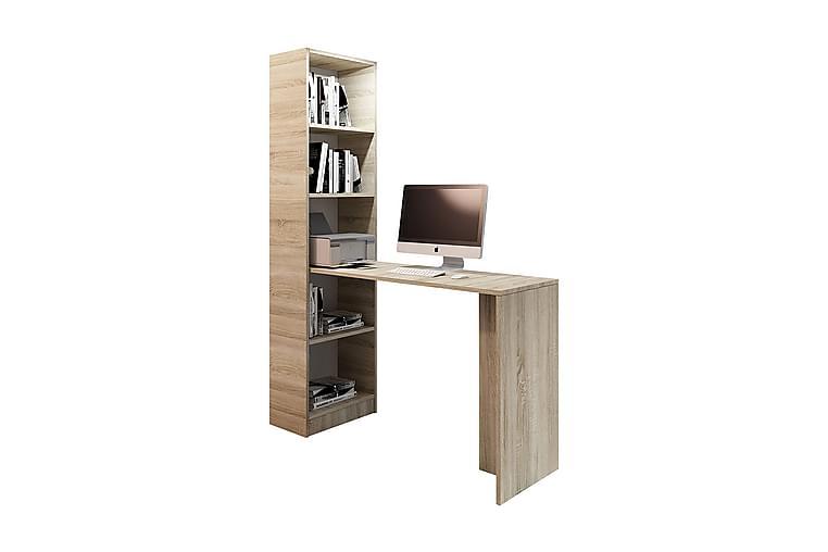 Skrivbord Gdeide 50x125 cm - Beige - Möbler - Bord - Skrivbord