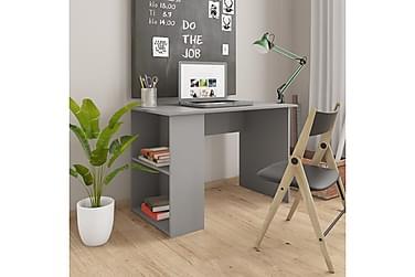 Skrivbord grå 110x60x73 cm spånskiva