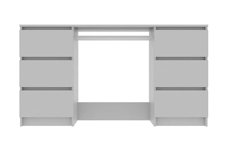 Skrivbord grå 140x50x77 cm spånskiva - Grå - Möbler - Bord - Skrivbord