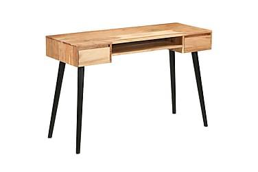 Skrivbord massivt akaciaträ 118x45x76 cm