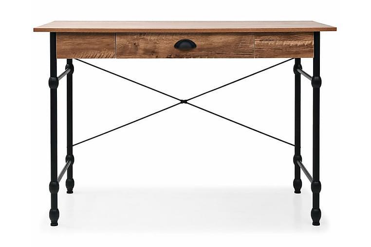 Skrivbord med låda 110x55x75 cm ekfärg - Brun - Möbler - Bord - Skrivbord