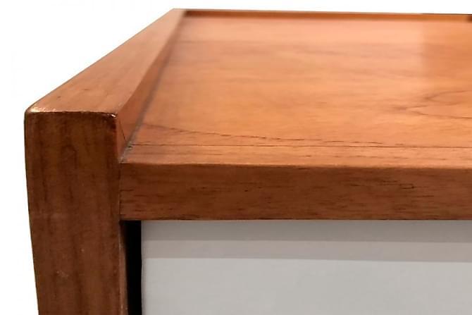 Skrivbord Passion for Retro 140 cm - Honung|Vit - Möbler - Bord - Skrivbord