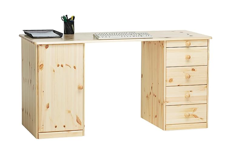 Skrivbord Plinio Lackad Furu - Beige - Möbler - Bord - Skrivbord