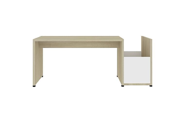 Soffbord 90x45x35 cm spånskiva - Beige - Möbler - Bord - Soffbord