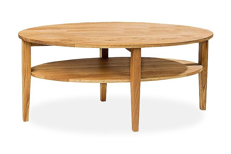 Soffbord Avesta 120 cm Ovalt Ek - Ek - Möbler - Bord - Soffbord