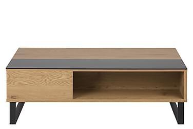 Soffbord Azalea 110 cm Ekfolie/Svart
