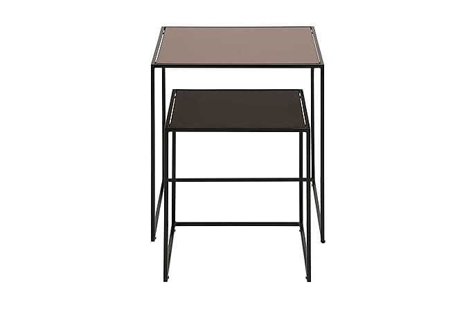 Soffbord Bolto 45 cm Set om 2 - Svart Brons - Möbler - Bord - Soffbord