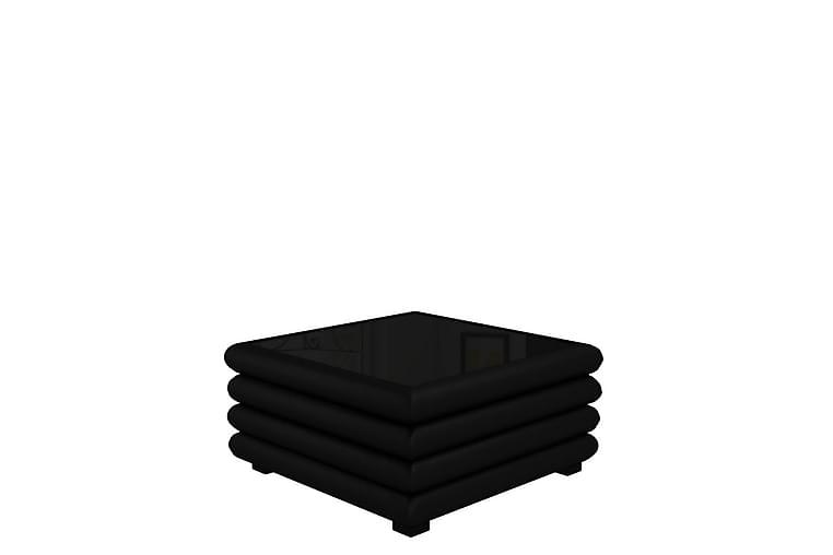 Soffbord Borago 90x90x47 cm - Svart - Möbler - Bord - Soffbord