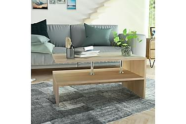 Soffbord Bubikon Med Hylla 90x59 cm