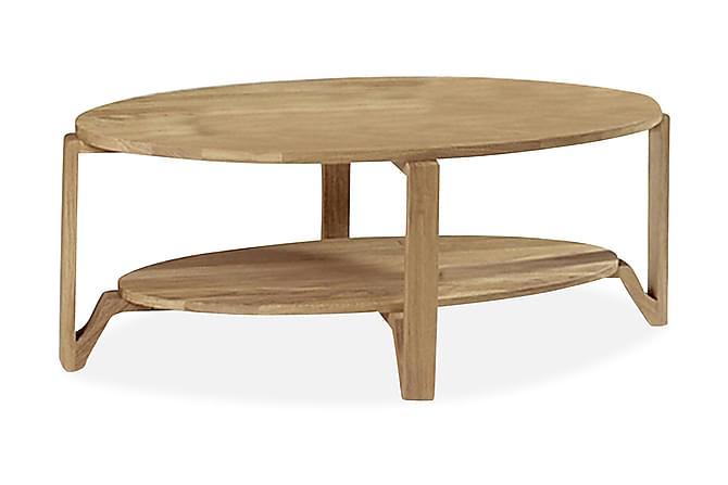 Soffbord Eslöv 120 cm Ovalt Ek - Ek - Möbler - Bord - Soffbord