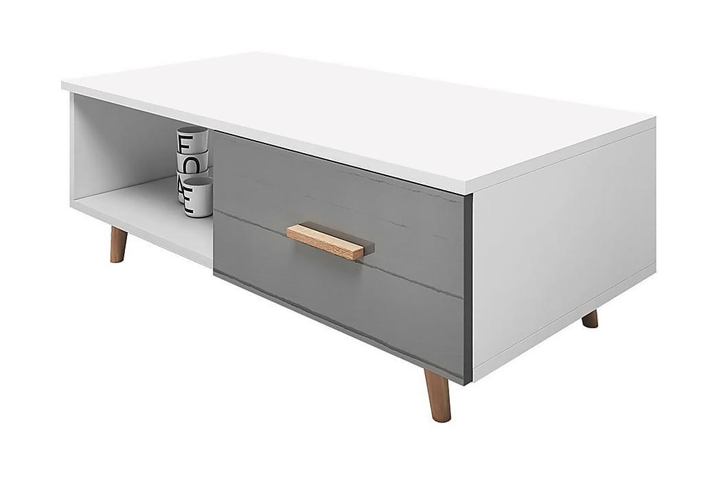 Soffbord Foskros - Vit/Grå - Möbler - Bord - Soffbord