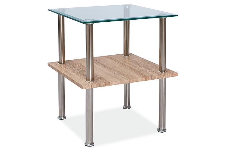 Soffbord Gatakan 50 cm - Glas/Silver - Möbler - Bord - Soffbord
