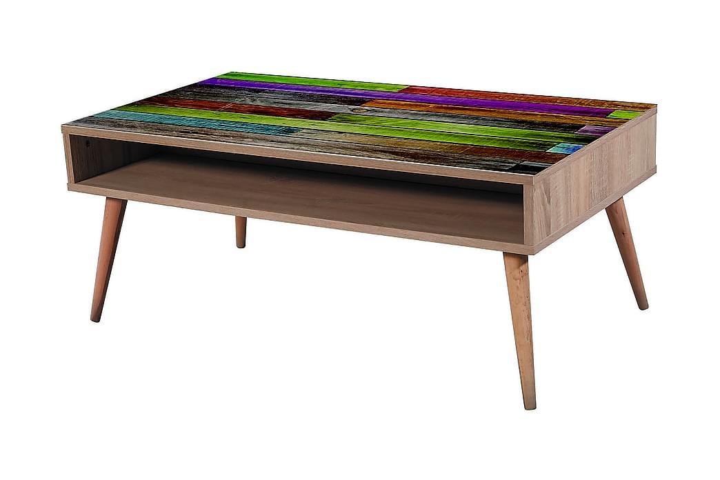 Soffbord Gillberga 110 cm - Brun - Möbler - Bord - Soffbord
