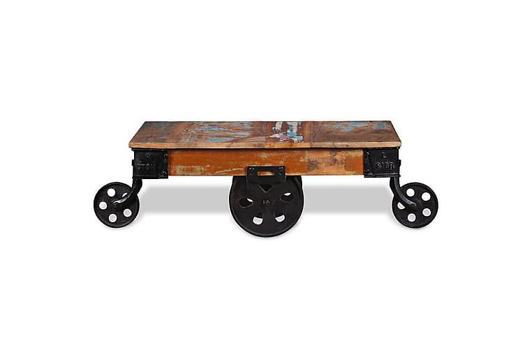 Soffbord i återvunnet trä 90x45x35 cm - Brun - Möbler - Bord - Soffbord