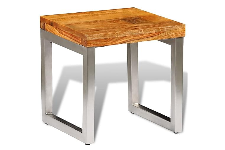 Soffbord i massivt sheshamträ - Brun - Möbler - Bord - Soffbord