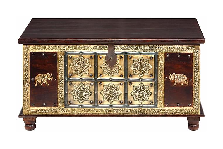 Soffbord Kajana 100 cm - Brun - Möbler - Bord - Soffbord