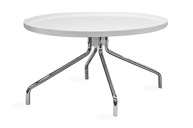 Soffbord Kepheus 78 cm Runt - Vit - Möbler - Bord - Soffbord