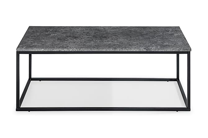 Soffbord Ladonia 120 cm - Grå/Svart - Möbler - Bord - Soffbord