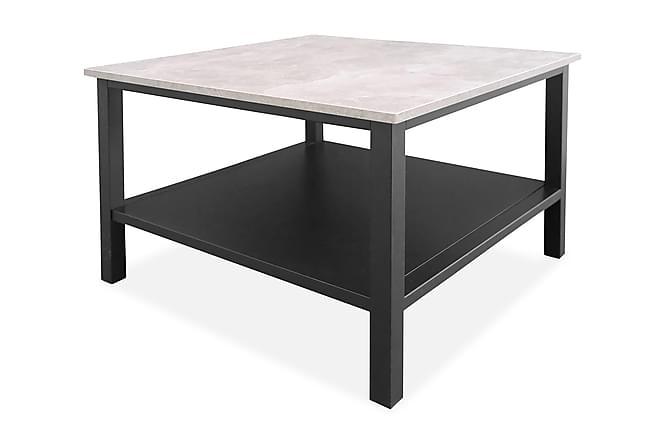 Soffbord Larissa 80 cm - Mörkgrå|Betong - Möbler - Bord - Soffbord