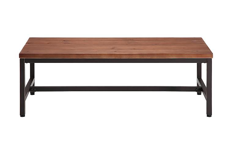 Soffbord Limerick 120 cm - Rustik Alm|Svart - Möbler - Bord - Soffbord