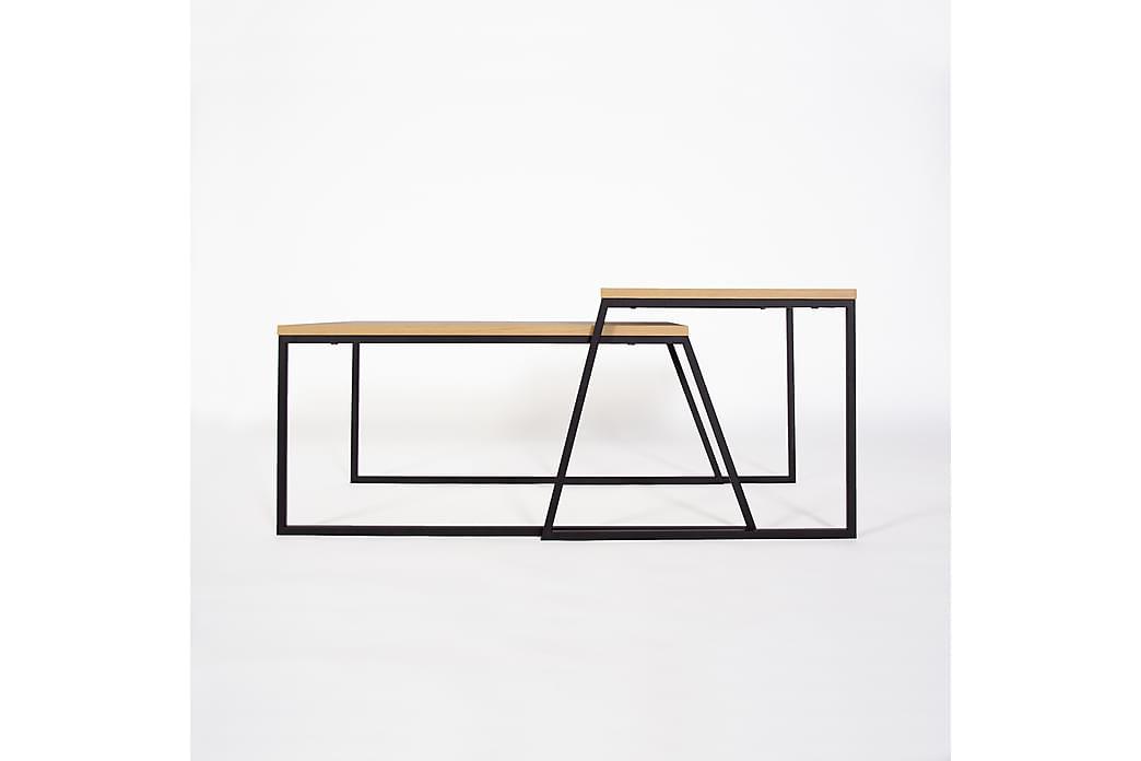 Soffbord Lindome 88 cm - Brun Svart - Möbler - Bord - Soffbord