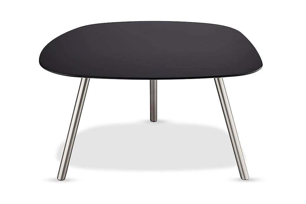 Soffbord Malou 85 cm Ovalt - Svart - Möbler - Bord - Soffbord