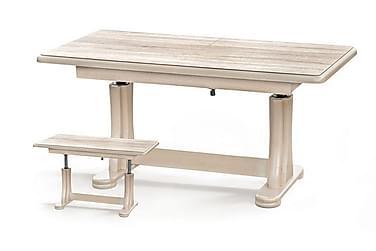 Soffbord Mancinie 125x65 cm Höj- och Förlängningsbart