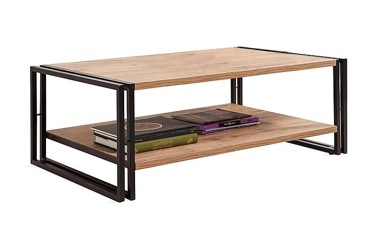 Soffbord Masako - Trä Svart - Möbler - Bord - Soffbord
