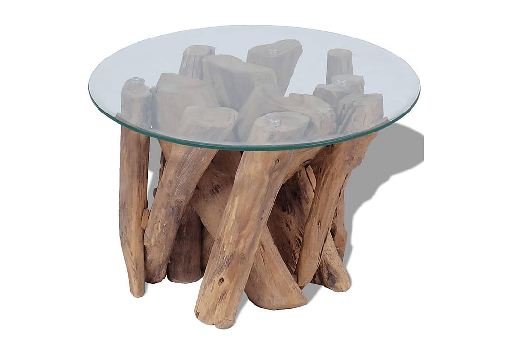 Soffbord massivt drivved 60 cm - Brun - Möbler - Bord - Soffbord