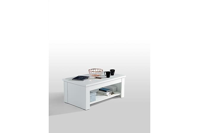 Soffbord Mesne 110 cm - Vit - Möbler - Bord - Soffbord